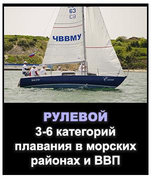 Рулевой спортивного парусного судна