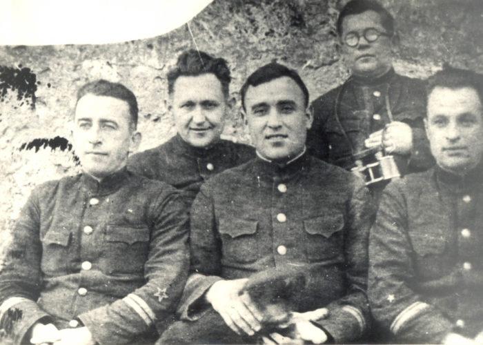 Командный состав 14-й ББ