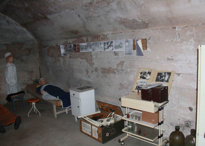 Экспозиция подземного госпиталя Севастополя