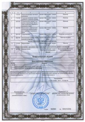 Приложение 1 3 к лицензии 2