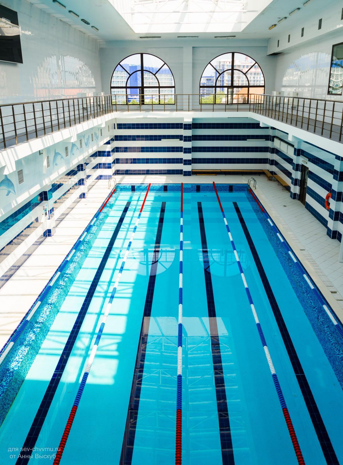 Плавательные бассейны в картинках