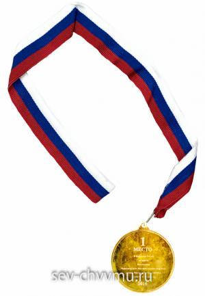 Медаль 1 место 2
