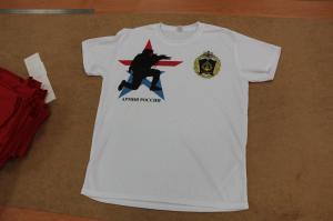 Печать на футболке ЧВВМУ